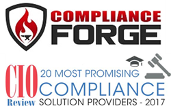 ComplianceForge - Top 20 CIOReview for Compliance Solution Provviders