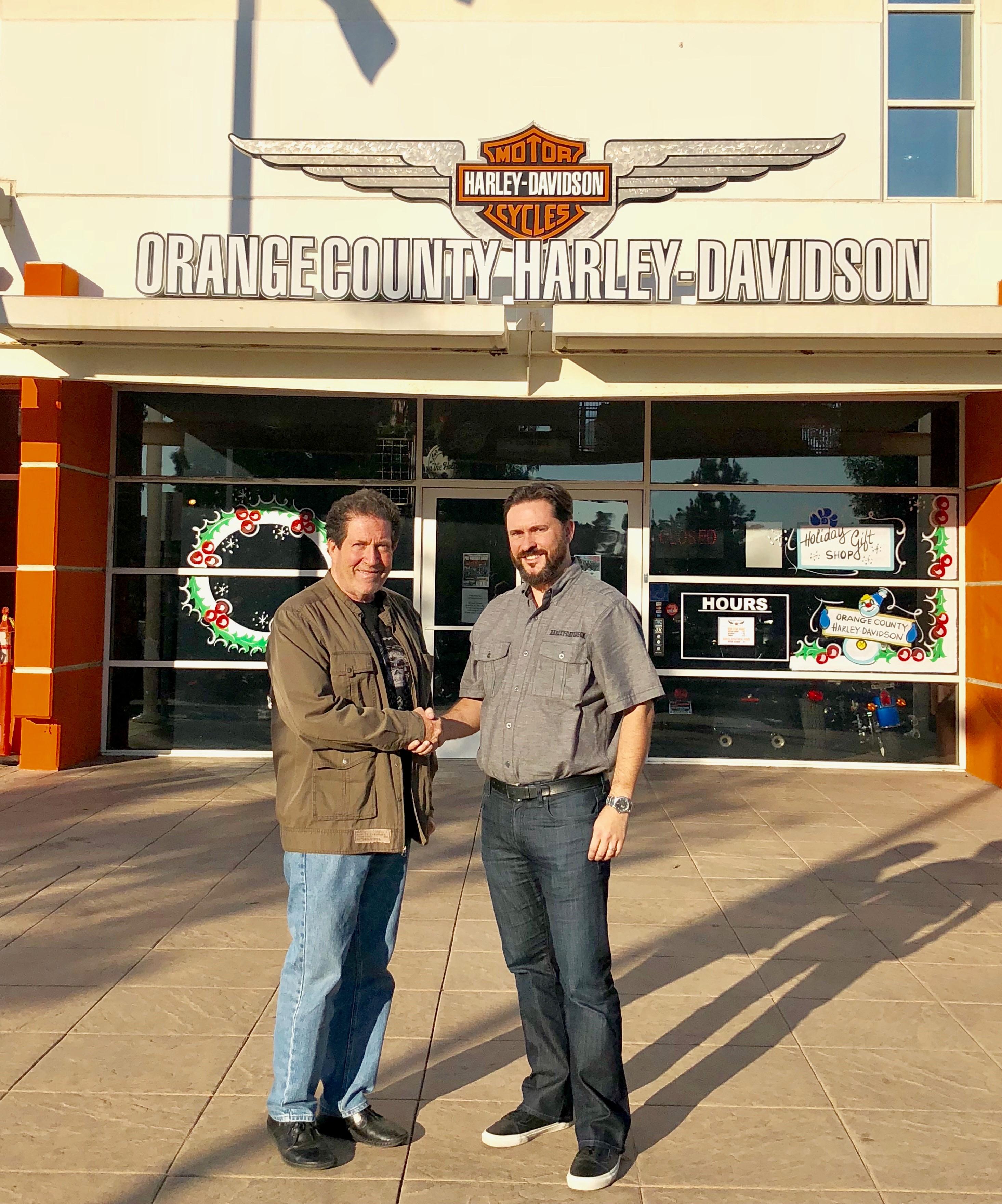 Orange County Harley-Davidson In Irvine, California Sells