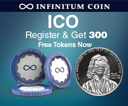 Infinitum Coin ICO 300 Free Tokens