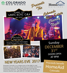 HomeAid Colorado partners with ColoradoNewHomes.com to Stomp Out Homelessness in 2018