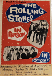 1964 - 1966 Rolling Stones Boxing Style Concert Posters