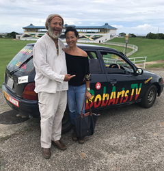 Gia Yee returned to Jamaica on another promotional tour and visited the Trelawny Multipurpose Stadium, where she was interviewed on iSTAGE by TV Host, Ras Astor Black.
