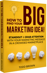 big marketing idea book from todd brown
