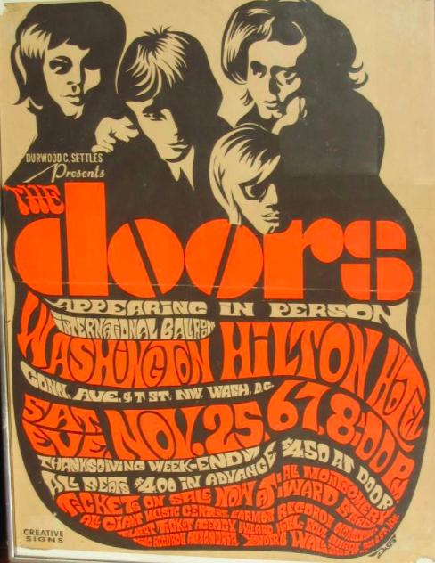 Avid Rock Concert Poster Collector Announces His Search For 1965