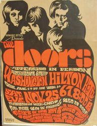 1965 - 1971 Classic Psychedelic Rock Concert Posters For The Doors  sc 1 th 250 & Avid Rock Concert Poster Collector Announces His Search For 1965 ...