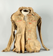 Santee Sioux Scout Shirt, Estimated at $10,000-15,000.