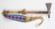 Cheyenne Pipe Tomahawk with Beaded Drop, Estimated at $30,000-50,000.