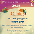 Onata, Universe of Services, Kicks Off with The Onata Insider Program