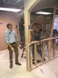 Teens Learn Hands-On Demolition, Framing Skills at Housing & Building Association Offices