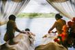 Royal Livingstone Victoria Falls Zambia Resort- Massages on the Zambezi River