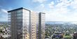 280 luxury residential units above retail space on the ground floor of 587 Main Street in New Rochelle.