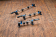 "Available as sets: 5"", 8"" and 12"" Clamp-It® Bar Clamps plus Mini Sure-Foot® Conversion Kit"