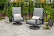Lyndale Swivel Rocking Chair with Cast Slate Cushions
