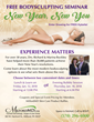 "Only A Few Days Away: Two January 2018 ""New Year, New You"" Body Sculpting Seminars Free and Open to the Public at MilfordMD Cosmetic Dermatology Surgery & Laser Center"