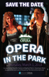 Save the Date poster for 2018 Opera in the Park