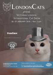 Katzenworld to attend LondonCats show in Leatherhead 6th & 7th of January