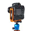 3 Legged Thing's QR11-GB is designed specifically for large pro cameras and gripped bodies