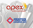 Apex International Chooses Anderson & Vreeland Canada as Exclusive Partner For Sales and Support for ALL Canadian Provinces for the Anilox Market