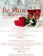 Valentine's Day Information at The Bernards Inn