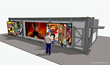 Work-in-progress render of DC in D.C. Pop-Up Shop (back). Please note: render is preliminary and subject to change; design not final. (C) 2018 WBEI. All Rights Reserved.