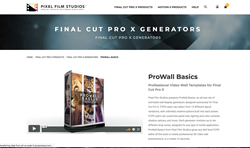 ProWall Basics - FCPX Plugins - Pixel Film Studios