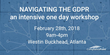 CompliancePoint Offers Intensive One Day GDPR Readiness Workshop