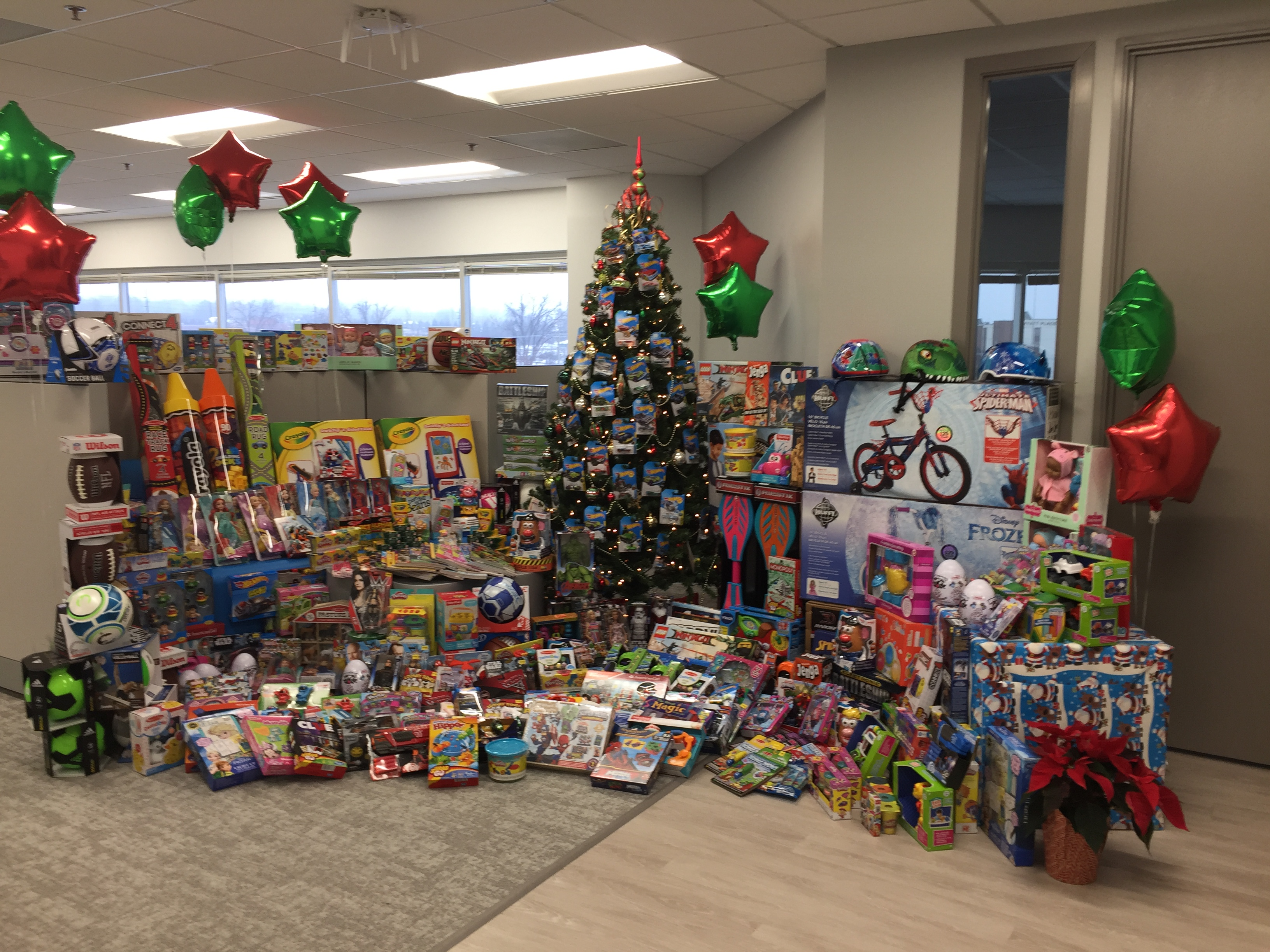 Christmas Toys For Tots Application : Revspring participates in toys for tots this holiday season