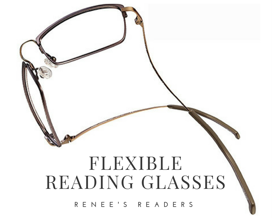 59aca25078 FLEXIBLE READING GLASSES...keeping the busy and well-dressed on task  without interruption inspiration jeanne reneesreaders