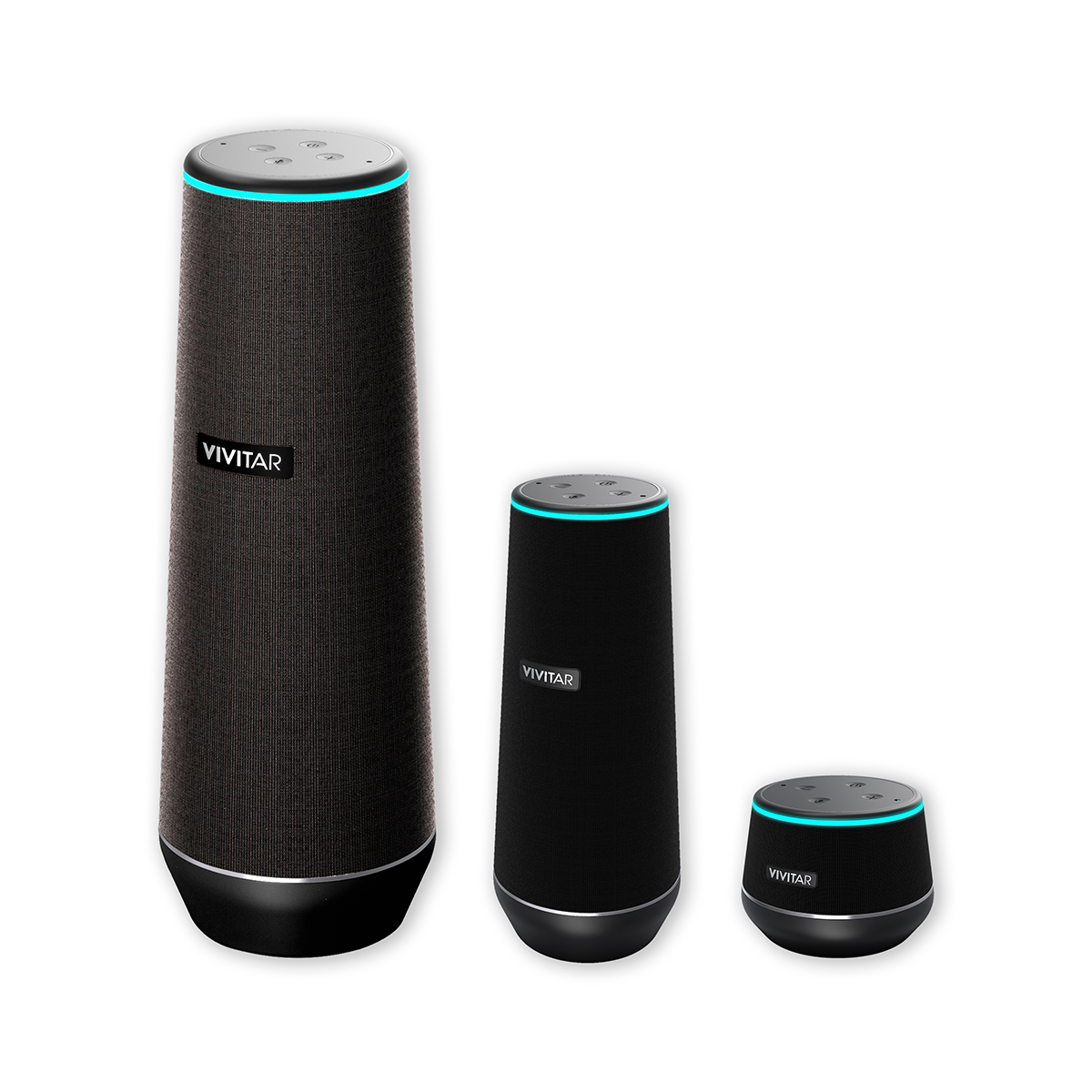 Alexa Bluetooth Speaker >> Vivitar Unveils New Tower Alexa Speaker at 2018 CES®, Making the Voice Assistant Available to ...