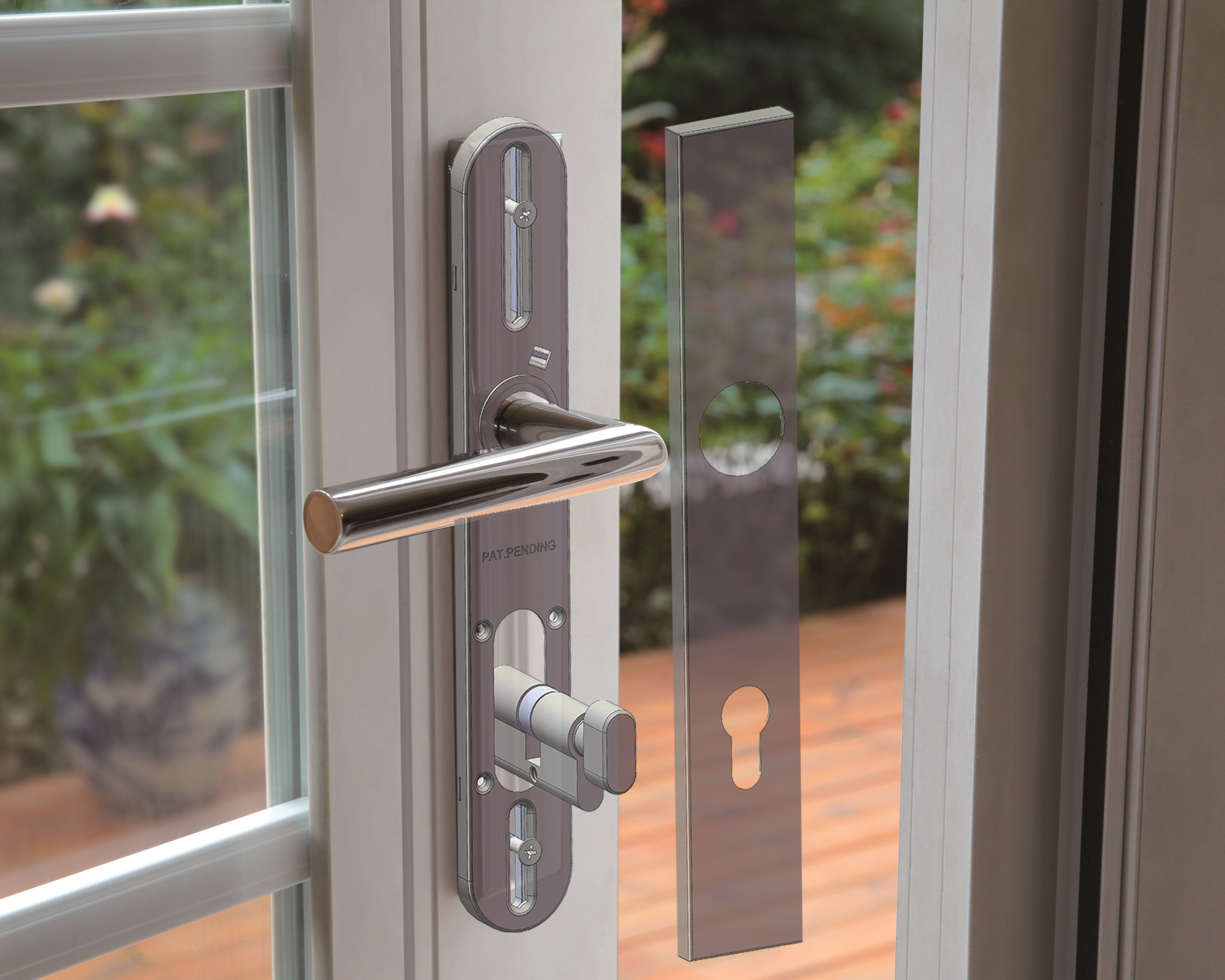 Inox Privacy Barn Door Lock To Make Its Kbis Debut In Orlando