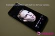 Smartphone with Bellus3D Face Camera built-in photo