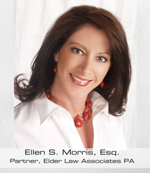 Chairperson of the Elder Law Section of The Florida Bar, Ellen S. Morris, Esq.