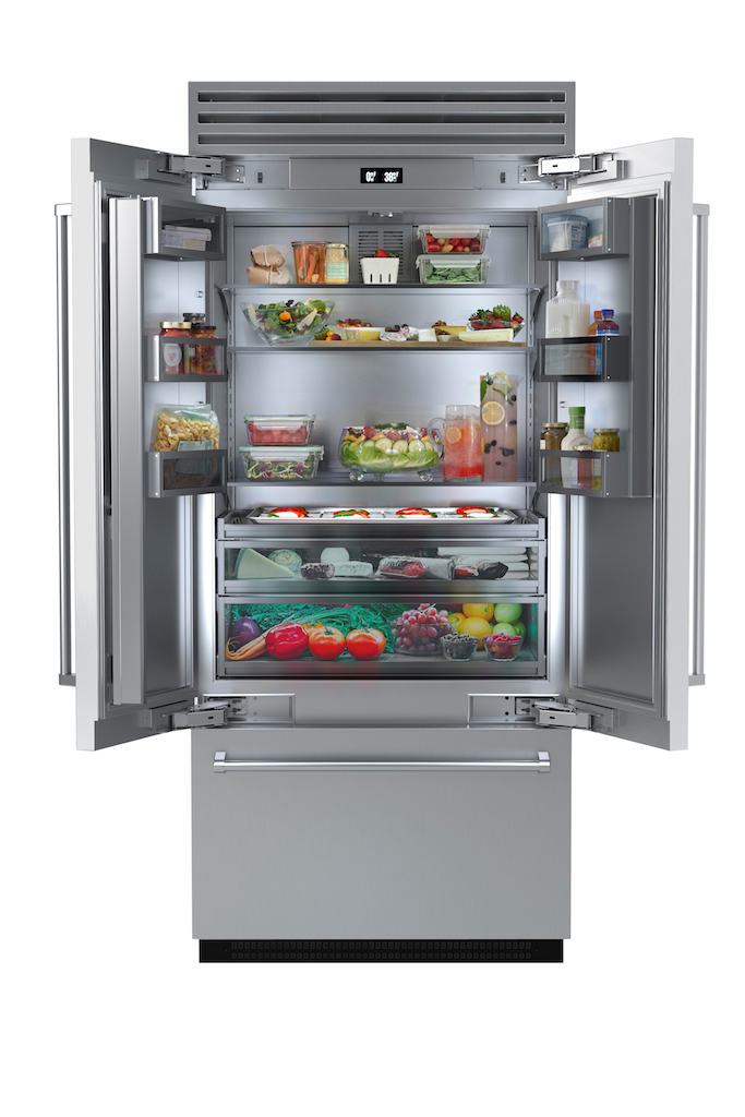 Bluestar Introduces New French Door Refrigerator Design To