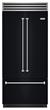 BlueStar New French Door Built-In Refrigerator-Matte Black