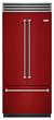 BlueStar New French Door Built-In Refrigerator-Ruby Red