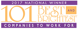 National Best and Brightest Places to Work For logo
