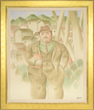 "Fernando Botero (Colombian/American, 1932-) ""A Lawyer"", estimated at $125,000-175,000."