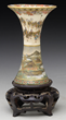 Satsuma Pottery Vase by Yabu Meizan, estimated at $4,000-6,000.