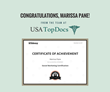 NJ Top Docs Congratulates USA Top Docs Social Media Specialist
