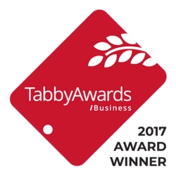 Tabby Award Business 2017 Official Winner Logo