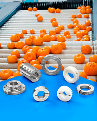 Stafford's stainless steel and plastic shaft collars, couplings and mounts