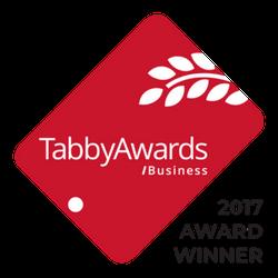 Tabby Winner Logo 2017