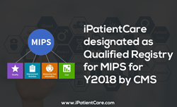 iPatientCare once again receives a designation of Qualified Registry for MIPS for the year 2018 by CMS