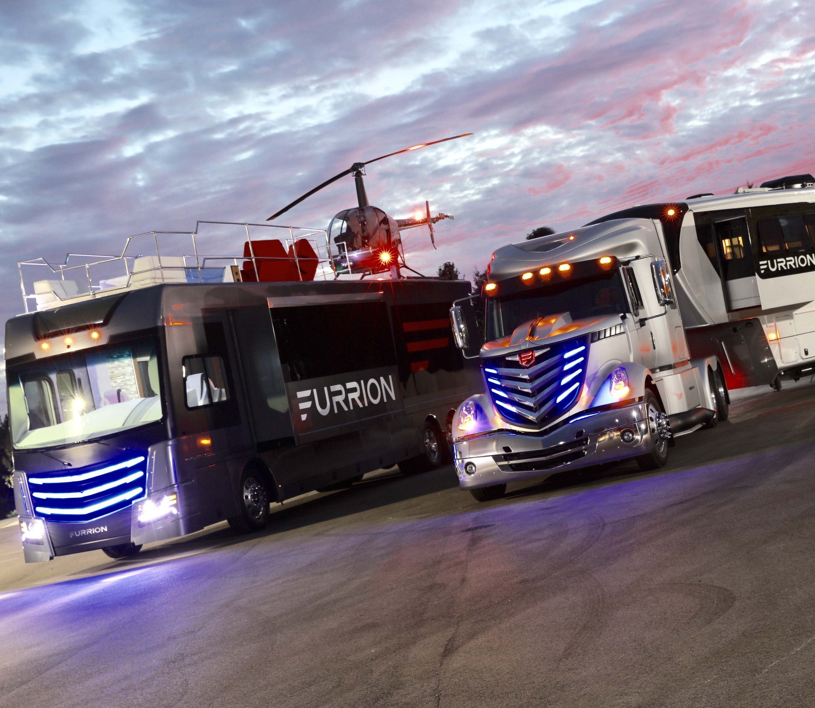 Furrion Debuts Two New Concept Vehicles That Define Mobile