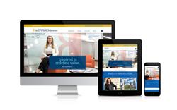 Boler Business School website design
