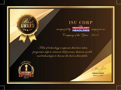 ISU Corp Company of the Year