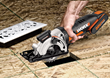 Make plunge cuts with WORX 20V 3-1/2 inch Compact Circular Saw