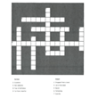 One Minute Crossword