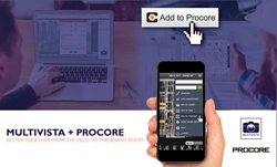 Multivista Procore Integration Partnership