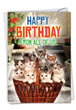 """""""Happy Birthday From All of Us"""" greeting card from NobleWorks."""